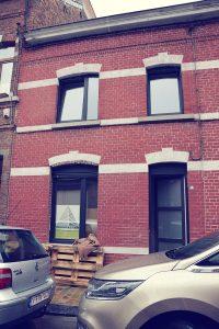 Maison en brique Namur